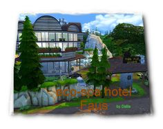 Sims 4 CC's - The Best: Spa-Hotel by Dalila