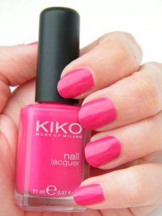 Kiko Pink Nail Polish