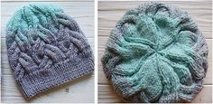 Enchanting Knitted Cable Hat [FREE Knitting Pattern]