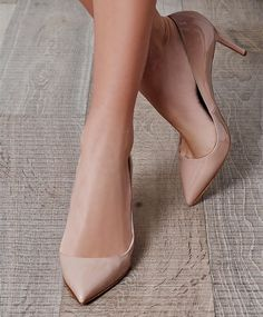 This shoe is a timeless piece to have in your wardrobe, and there are so many places to show off this nude Pigalle 85mm shoe! This beautiful nude colored pointed-toe shoe is perfectly with both day and evening looks .The 85mm/ 3.5 inches heel is a perfect way to show off those lovely legs of yours!