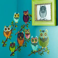 Owls are Hot for fall Decor