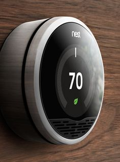 Nest thermostat now available from Apple Store.