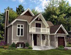 Flexible 2-Level Escape - 90131PD | Architectural Designs - House Plans