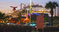 Carnival and Royal Caribbean cruise lines offer Caribbean cruises from the Port of Galveston, Texas.