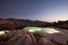 Hotel Endémico Resguardo Silvestre, a cluster of twenty units nestled on the hillside in Baja California, Mexico