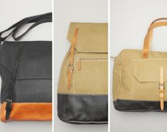 Аксессуары: Коллекция кожаных сумок от Ally Capellino on http://frontyardmag.com