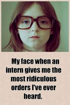 The look my face gets when…