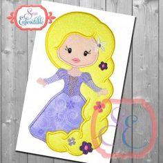 Little Princess 15 Applique