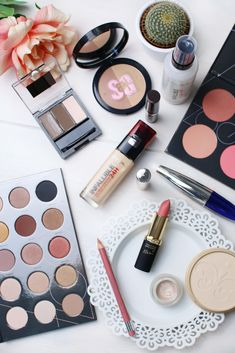 My current favourite drugstore products for a luxury look for less finish including L'Oreal Paris, Rimmel, Maybelline, Zoeva and Soap and Glory Beauty Skin, Beauty Makeup, Hair Beauty, Makeup Haul, Makeup Revolution, Maybelline, Makeup Guide, Makeup Ideas, Facial