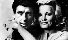 John Cassavettes and Gena Rowlands
