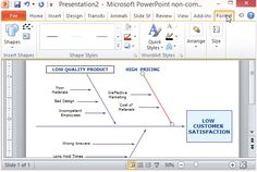 Cause and Effect Diagram Template for Microsoft PowerPoint