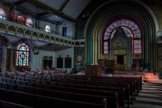 Abandoned synagogue in Chicago