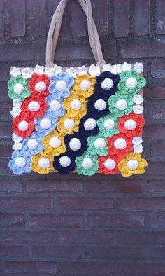 27 Beste Afbeeldingen Van Tassen Crochet Bags Crochet Purses En