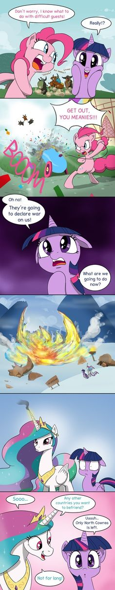 Celestia Is a Weapon of Mass Destruction