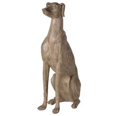 Sitting Lurcher in stone effect resin, Decorative statuette and beautifully finished. Ideal for any dog lover. Contemporary Style Homes, Contemporary Furniture, Garden Sculpture, Lion Sculpture, Lurcher, Dog Lovers, Sculptures, Shabby Chic, Statue