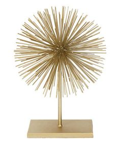 Loving this Large Burst Stand Finial on #zulily! #zulilyfinds
