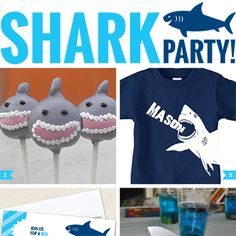 It's SHARK WEEK, y'all! It's pretty much the best time of the year that doesn't involve an Elf on the Shelf. ; ) In honor of this awesome week, here are 14 great shark party ideas that are great for a shark theme birthday party, a Shark Week viewing party, ...