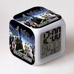 Star Wars Alarm Clocks digital watch LED Color Changing - INNOVATIVE PRODUCTS PORTAL - MyProductPortal.com