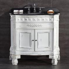 Provence Single Sink Vanity   Bath   Bathroom Vanities   Sink Cabinets |  HomeDecorators.com | Bathroom Inspiration | Pinterest | Single Sink Vanity,  Single ...