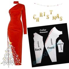 Pattern Dress, Dress Patterns, Barbie Sewing Patterns, Fashion Patterns, Pattern Drafting, Fashion Sewing, All About Fashion, Sewing Clothes, Pattern Making