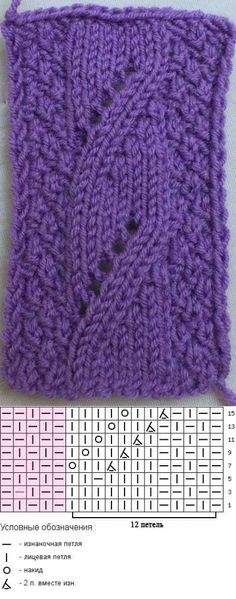 Falscher Zopf Best Picture For knitting techniques website For Your Taste You are looking for something, and it is going to tell you e Lace Knitting Patterns, Knitting Stiches, Knitting Charts, Knitting Designs, Knitting Projects, Crochet Stitches, Baby Knitting, Stitch Patterns, Crochet Baby Socks