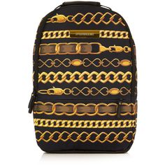 Sprayground '9 Chainz' Backpack ($77) ❤ liked on Polyvore featuring men's fashion, men's bags, men's backpacks, backpack, bags и multi