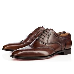 Chapter 3- brown, leather shoes.