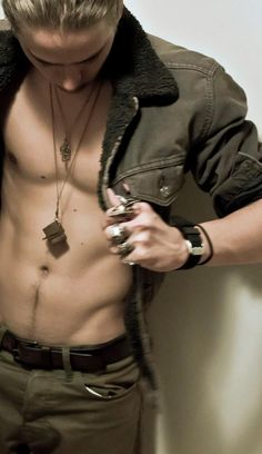 Take a walk down Cole Sprouses happy trail. Dont forget your boots!!