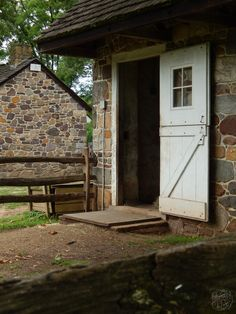 The stable door at Pennsbury Manor