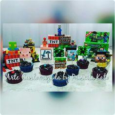 Festa Minecraft do Rafael! Orçamento por email : artepriscilakato@gmail.com