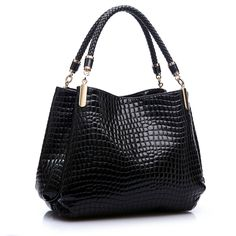 Ladies' Luxury Leather Tote Handbag //Price: $36.99 & FREE Shipping //     #love #outfit