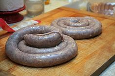 Homemade Swedish Potato Sausage - would love to try making this