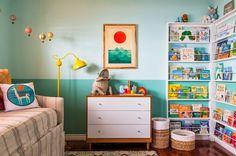kids room - two tone wall