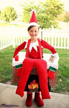 992 best elf on shelf ideas images on pinterest christmas ideas elf on the shelf diy halloween costume solutioingenieria Images