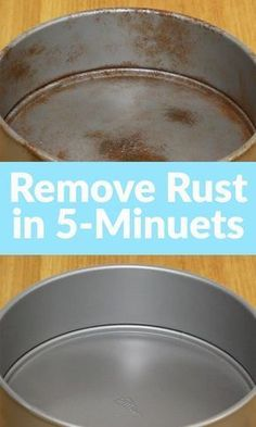 Easy cleaning hacks and lifestyle tips for your kitchen! Learn how to easily and effectively remove rust from your aluminum pots and pans with this awesome cleaning tip and tutorial! Deep Cleaning Tips, House Cleaning Tips, Diy Cleaning Products, Spring Cleaning, Cleaning Hacks, Diy Hacks, Cleaning Rust, Cleaning Solutions, Cleaning Recipes