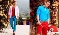 Kerem Bursin Dons Great Color for InStyle Turkey