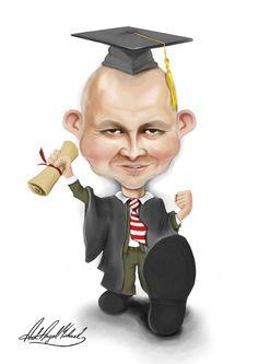 Caricature - student