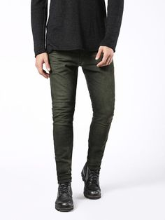 Diesel carrot Jeans for man: buy the perfect fit to make your legs look slimmer and longer. Try our Tepphar, Rhial and Deepzip! Update your closet with the latest arrivals on Diesel Official Online Store. Diesel Jeans, Jogg Jeans, Men's Jeans, Perfect Fit, Slim, Legs, Pants, Stuff To Buy, Shopping