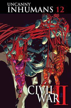 UNCANNY INHUMANS #12Con los Inhumanos asumir el Invencible Iron Man, Maximus el Loco entra en la refriega para empeorar las cosas!