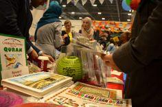 muslimsticker stall at halal food festival