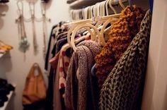 belt/scarf hanger from Ikea (via Kendi Everyday) Scarf Holder, Belt Holder, Ikea Closet Organizer, Closet Organization, Organizing Life, Closet Hacks, Plus Clothing, Clothing Storage, Household