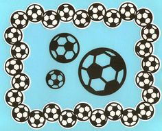 Soccer Frame - Monica's Creative Room
