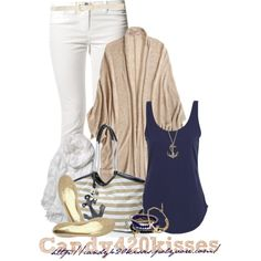 Navy and Gold Nautical Look :)