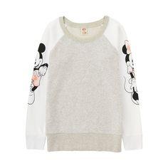 WOMEN DISNEY PROJECT Long Sleeve Sweat Pullover