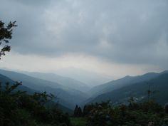 Japan mountains