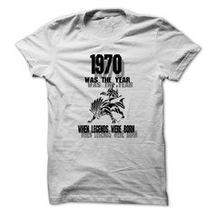 Legend 1970 ... 999 Cool Year Shirt !