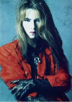 Yoshiki .. Leader of X Japan with long hair