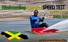 I AM Buddy, The BUDDHA From Mississippi ™: Kiteboarding Jamaica SPEED TEST - With Garmin Forerunner 910XT