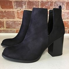 Open Sided Stylish Booties from Cousin Couture.