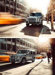 A car like a building: Ever since, the imposing stature of the G-Class has been appealing with its beholders.  [Mercedes-AMG G 65 | combined fuel consumption 17.0 l/100km | combined CO2 emission 397 g/km | http://mb4.me/efficiency_statement]
